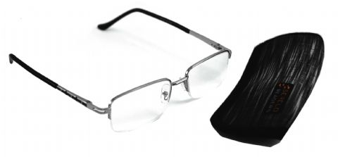 "Serelo Reading Glasses - Metal Frame ""Lecce"" Design (3.00x)"